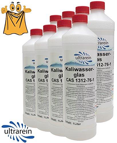 8-bouteilles-avec-1-l-kali-verre-a-eau-par-exemple-pour-appret-sceller-verfestigung