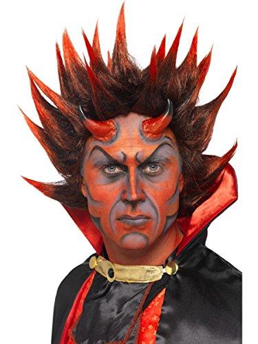 ücke Höllenfürst Teufel rot-schwarz Halloween (Schwarzer Teufel Für Halloween)