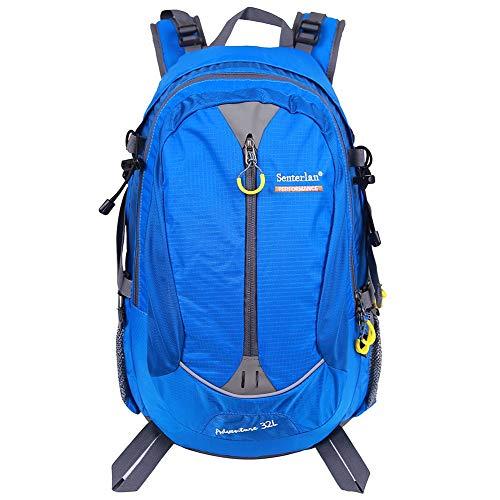 EGOGO 32 l Wasser-Resistent Outdoor Sport Wandern Camping Radfahren Rucksack Daypack S2128 (Blau) -