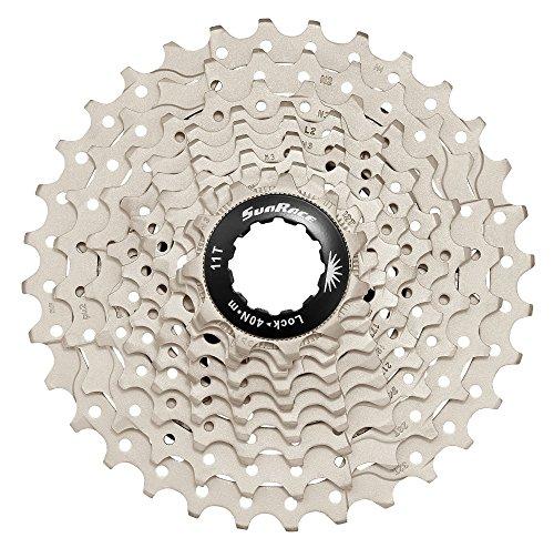 Sunrace CSRS1 Cassette, Deportes al Aire Libre, Ciclismo,componentes de Bicicleta, Gris, Talla Única