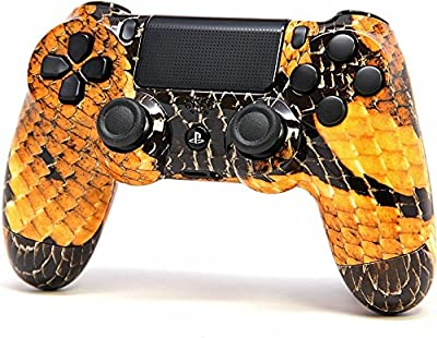 """Gold Dragon""PS4 Rapid Fire Modded Controller for COD Black Ops3, Infinity Warfare, AW, Destiny, Battlefield: Quick Scope, Drop Shot, Auto Run, Sniped Breath, Mimic, More"