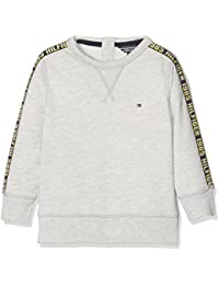 Tommy Hilfiger Ame Hilfiger Cn Hwk L/S, Sweat-Shirt Garçon