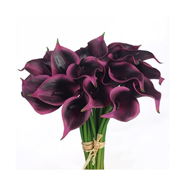JUSTOYOU Latex Tulip True Touch Amarillo,10 pcs