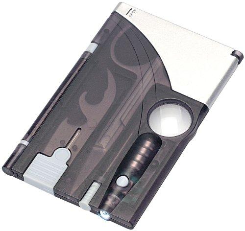 infactory Mini Tool: Kreditkarten-Tool 9 in 1 (Mini Multifunktionswerkzeuge)