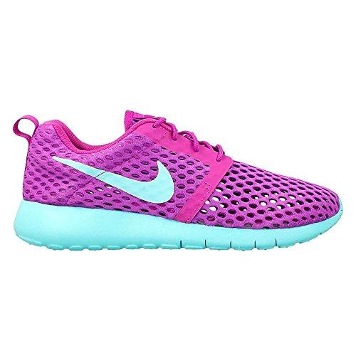 Nike - Roshe One Flight Weight (Gs), Scarpe sportive Bambina Morado (Morado (Hyper Violet / Hyper Turq))