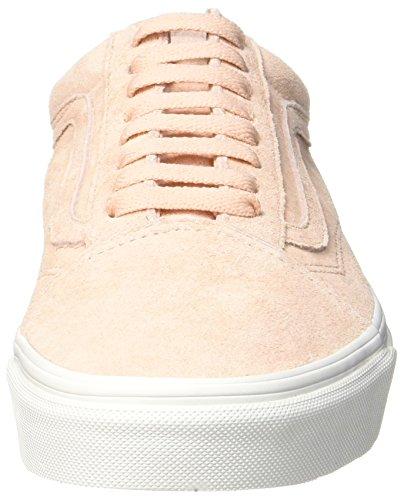 Vans Old Skool, Chaussures de Running Femme Rose (Spanish Villa/blanc De Blancpig Suede)