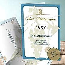 Einladung 80er Party Geburtstag, Auslese 15 Karten, Vertikale Klappkarte  105x148 Inkl. Weiße Umschläge