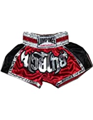 Lumpinee Muay Thai Kick Boxing Pantalones Boxeo Tailandes LUM-023 Talla L
