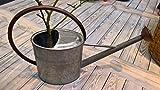 Gießkanne- große stabile Wasserdichte Gießkanne aus Metall + Zink, ca. 10 Liter -Gartengießkanne mit abschraubbarer Tülle