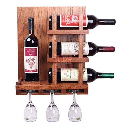 Porta bottiglie in legno cantinetta posti vino a botte in - Porta vino legno ...