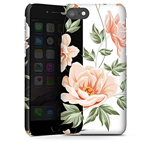 Apple iPhone 4 Silikon Hülle Case Schutzhülle Blume ohne Hintergrund Flower Premium Case glänzend