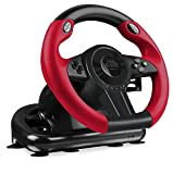 Speedlink TRAILBLAZER Racing Wheel for PS4/Xbox One/PS3/PC - Volante per giochi (Vibrazione, 12 tasti), nero immagine