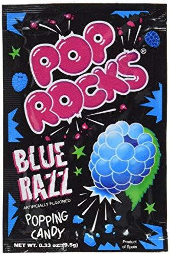 Pop Rocks Blue Razz 8er Pack (8 x 9.5g) (Aroma Candy Rock)