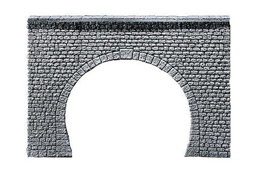 "FALLER 272631 - Tunnelportal Profi \""Naturstein Quader\"", 2-gleisig"
