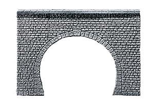 """FALLER 272631  - Portal del túnel Pro sillar """", de dos vías importado de Alemania"""