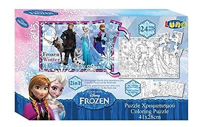 Disney Frozen Puzzle 24PZAS de DISNEY