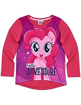 MON PETIT PONEY 85707, Camiseta para Niñas, Roja (Rouge Framboise), 4 Años