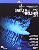 Great Ballets from The Bolshoi, Vol. 2 - La Bayadère / Marco Spada / Swan Lake (Bolshoi Ballet, 2013-2016) (4-DVD Box Set) (NTSC) [Blu-ray]