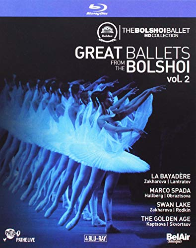 Great Ballets Bolshoi Vol.2 [Orchestra of the State Academic Bolshoi Theater of Moscow; Pavel Sorokin; Alexey Bogorad] [Bel Air Classiques: BAC620] [Blu-ray] (Blu-ray Air)
