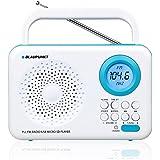 Blaupunkt pp12wh Radio portable avec lecteur MP3/USB/SD, réveil et écran LCD Blanc