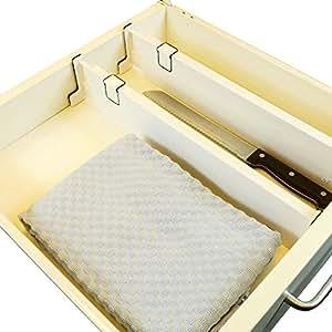 schubladentrenner 2 st ck schubladenteiler von 35 53 cm. Black Bedroom Furniture Sets. Home Design Ideas