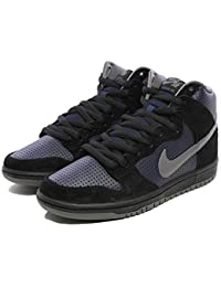 a8c694c0b74abf Nike Sb Dunk Hoch Trd Qs Schwarzlicht Grafhite Obsidian Turnschuhe 881758  001 UK 10.5 Eu 45.5