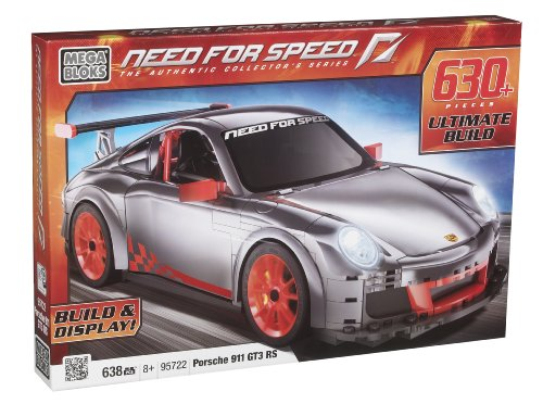 Preisvergleich Produktbild Mega Bloks 95722 - Need For Speed Porsche GT3 RS Car