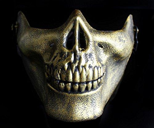 Máscara protectora de plástico para Halloween