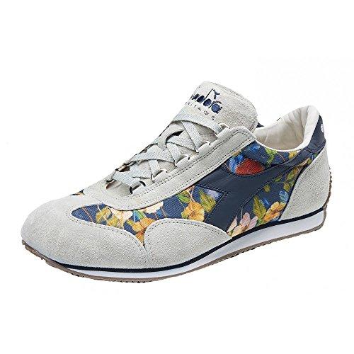 Diadora Diadora Heritage-Equipe Flower Baskets Mode Homme Gris Fiorate 170646 75042 Multicolore