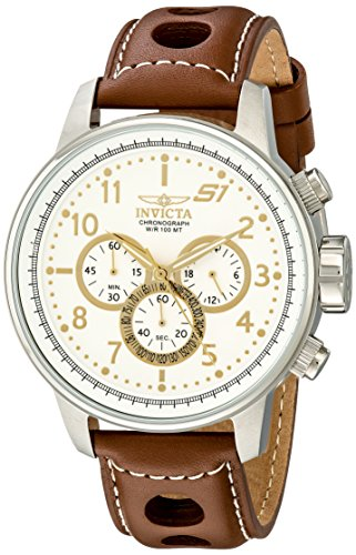 Invicta S1 Rally Analog White Dial Men's Watch - 16010 image