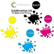 4x 100ml Epson de tinta de sublimación CMYK