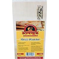 Grillschmecker: Grill-Holzplanke Ahorn, 30x15x2 cm