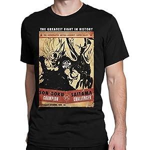 Goku vs Saitama T-Shirt