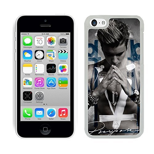Justin Bieber Coque pour iPhone 5 C coque de protection rigide (9) pour Apple i Phone 5 C