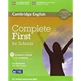 Complete first certificate for schools. Student's book-Workbook with answers. Con espansione online. Per le Scuole superiori. Con CD Audio e CD-ROM