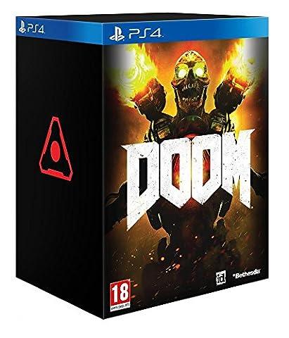 Boitier Jeu Ps4 - Doom - édition