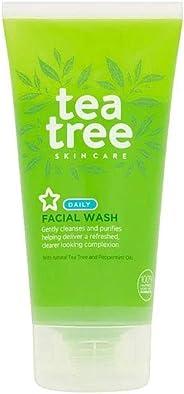 Superdrug S/D Tea Tree Face Wash, 150 ml