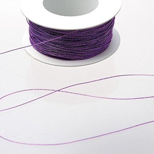 Dekofaden flieder 1 mm stark auf 200 m Rolle - 94412 47-R 001 (0,14€/M)