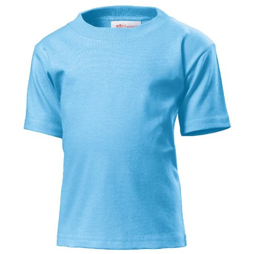 Toddler t-shirt COLOUR Light Blue SIZE 3 (Hanes Toddler-shirts)