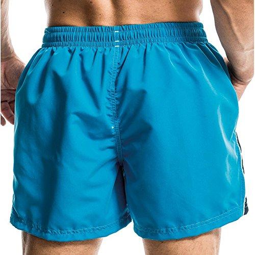 Aqua-Speed ® Henry Short de bain (S à XXL Short Bermuda de bain plage Pantalon de natation Pantalon) blue - black 01