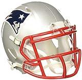 Riddell Speed Mini Helm, New England Patriots, 7.5 x 6.5