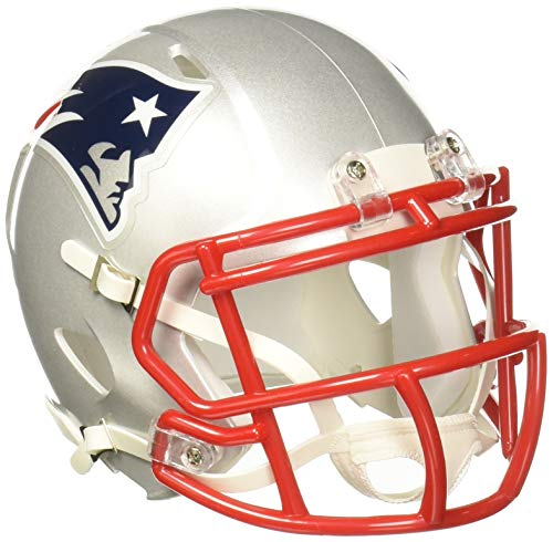 Riddell Speed Mini Helm, New England Patriots, 7.5 x 6.5""