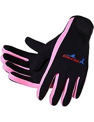 Lelantus Deportes al aire libre guantes de pesca de neopreno protector del dedo de la pesca