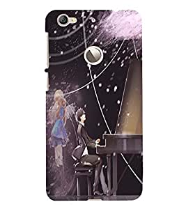 Cute lovers Back Case Cover for Letv Le 1S