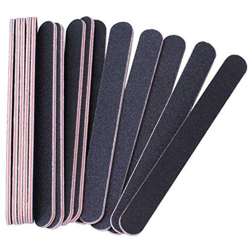 ppelseitige Emery Board (100/180 Grit) - Nagel-Puffer-Dateien für Zuhause und Salon verwenden (Halloween Gefälschte Nägel)