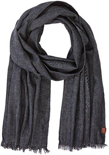 Camel Active Herren Schal 407270/6V27, Mehrfarbig (Grey/Black 6), One Size