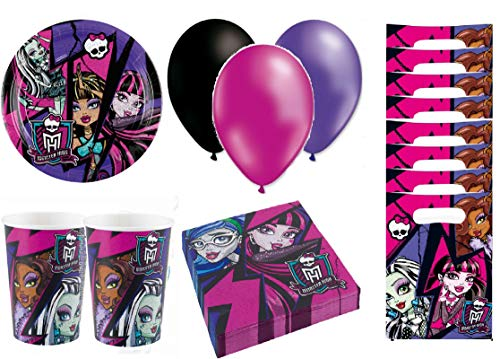 Monster High Anniversaire kit Anniversaire 8 Personnes