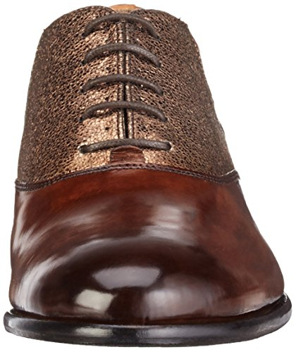 Melvin & Hamilton Sally 10, Chaussures à Lacets Femme Multicolore - Mehrfarbig (Crust Dk.Brown, Wood/Soko Wash Bronze/hRS)