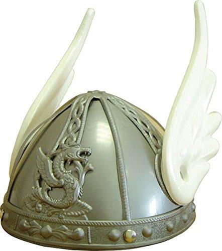Elmo Kostüm Kopfbedeckung - Unbekannt Giplam Gallier-Helm, 19x 20cm, Einheitsgröße