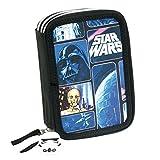 Star Wars ''Space'' 3-fach Federtasche gefüllt Etui, Federmappe gefüllt